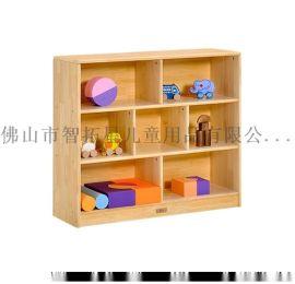 佛山智拓星幼儿园实木玩具柜