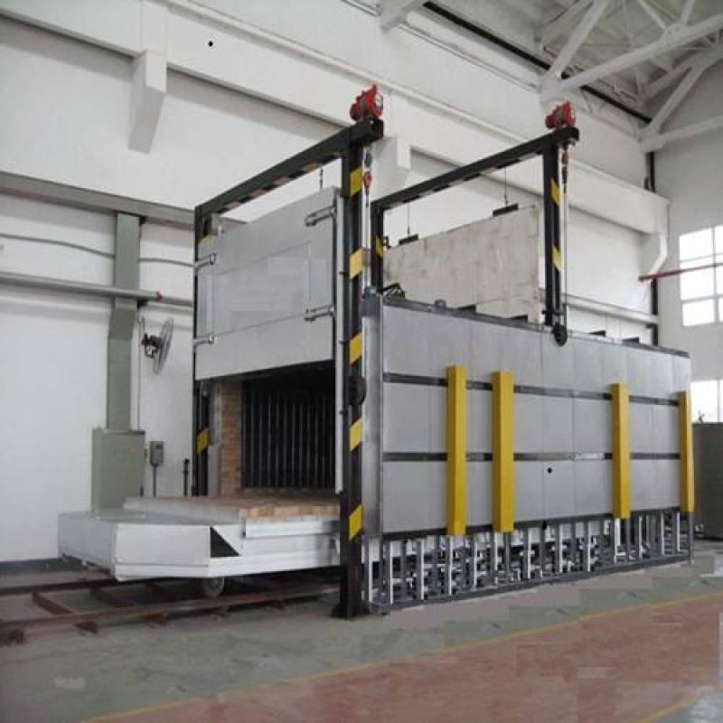 全纤维节能型台车炉,翻转式台车炉