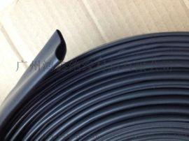 广州鸿鑫 200℃氟橡胶热缩套管 黑色高温热缩管