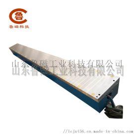 山东鲁磁供应电磁吸盘磨刀机160*1680