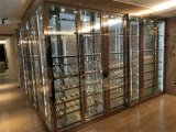 商場不鏽鋼酒櫃|中式酒櫃|不鏽鋼酒櫃廠家