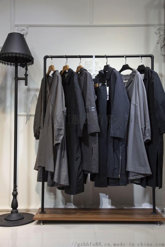 服装品牌女装折扣原创设计师新款双面呢厂家一手货源