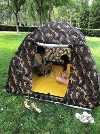 野营充气帐篷 户外大空间旅游钓鱼帐篷