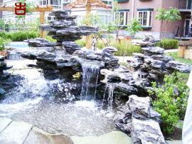绵阳公园喷泉假山雕塑厂家