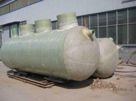 化粪池 优质玻璃钢  化粪池 工业沼气池结构图