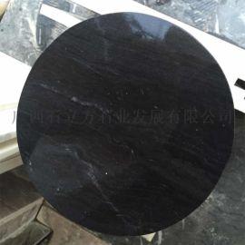 黑色大理石板材、广西石立方厂家供应天然大理石大板