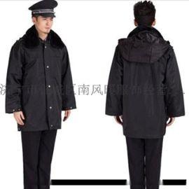 保安制服保安服短袖作训服夏装物业黑色长袖保安工作服套装男夏季