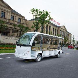 新款14座18座电动**厂家直销 湖南景区接待电瓶车 电瓶游览车