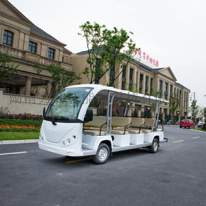 新款14座18座电动观光车厂家直销 湖南景区接待电瓶车 电瓶游览车