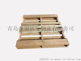 济南直销批发出口加工定制实木熏蒸欧标托盘厂家价格