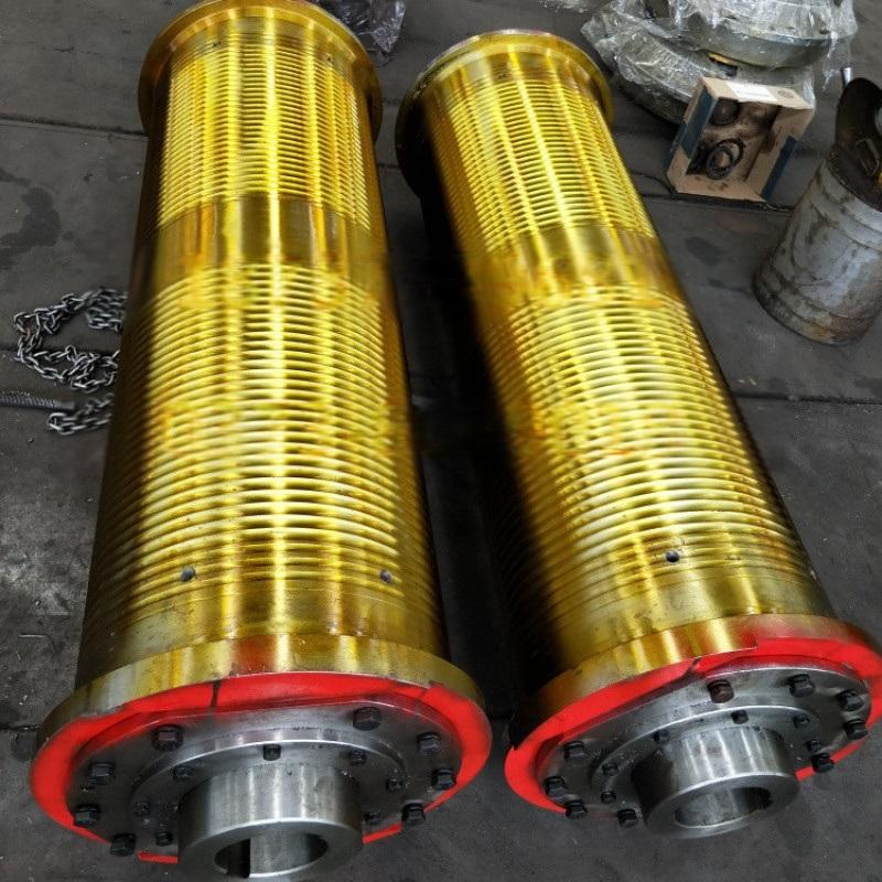 800×2000钢丝绳卷筒组非标定制卷筒组起重配件