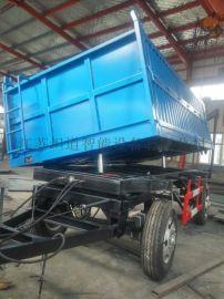 3-10T农用自卸挂车(拖车)