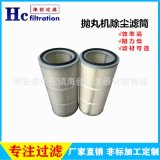 河北廠家直銷 打磨機除塵濾芯 拋丸機除塵濾筒 防靜電濾芯