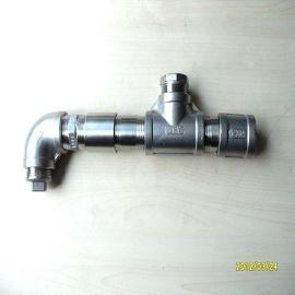 不锈钢丝口管件,内外丝接头,水管接头配件