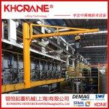 厂家直销柱式悬臂吊起重机 科尼电动悬臂吊立柱式悬臂吊KBK悬臂吊