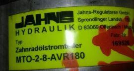 Jahns-Regulatoren GmbH分流器 MTO-2-8-AVR180