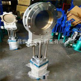 氣動不銹鋼插板閥  DN250 不銹鋼閥門