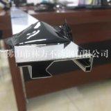 惠州鏡面不鏽鋼U槽加工 異型不鏽鋼工件 裝飾線條加工廠家 質量好交期快