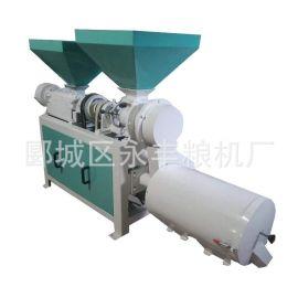 廠家直銷 多功能米面機 操作簡便 DNM-3B玉米脫皮制糝制粉一體機