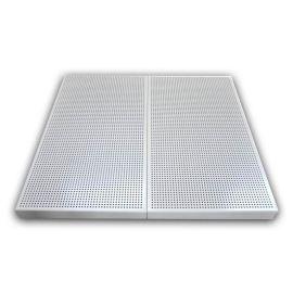 铝扣板源头厂家加工定制3003系列铝材穿孔铝天花