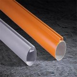 立广建材供应环保铝圆通 按规格定做天花吊顶铝圆管