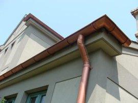 彩铝落水系统 成品天沟  天沟  檐沟  屋面天沟