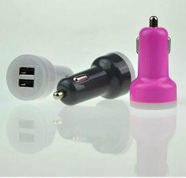 2.4a双USB车充 鸭嘴型车充 CE FCC认证
