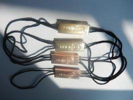 服装吊牌,绳子吊饰,五金吊牌,标签牌,金属吊饰