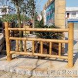 水泥仿竹欄杆,籬笆仿竹欄杆,景區仿竹欄杆