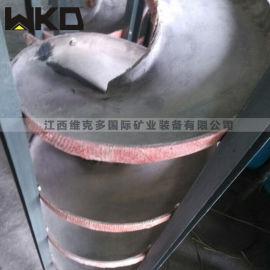 陕西螺旋溜槽厂家直销 螺旋溜槽工作原理 洗煤溜槽