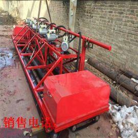 三滚轴混凝土路面摊铺机 高频震动桥面摊铺机