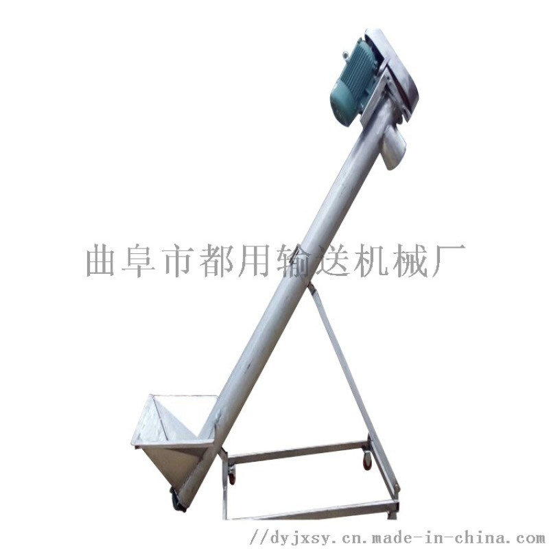 锯末管式圆管吸料机 散装粮食灌仓提升机qc