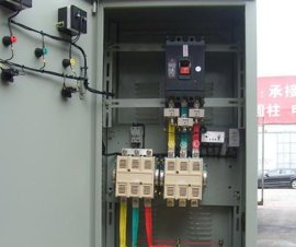90kW交流接触控制柜,QX4星三角起动箱