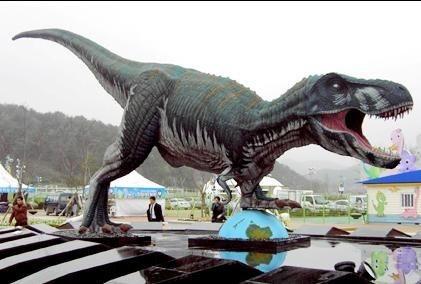 仿真恐龙出租 18米霸王龙展览道具
