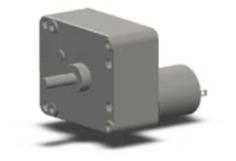定制80涡轮蜗杆齿轮减速电机 双出轴减速马达
