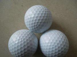 高尔夫比赛球 双层白色 加工订制 厂家直销高尔夫球