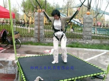 儿童蹦极厂家  广东小型迷你钢架蹦极