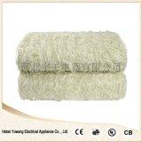新樂廠家直銷山羊絨雙人雙控電褥子,安全電熱毯