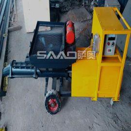 砂浆细石输送泵 二次构造柱浇注泵 水泥砂浆输送泵