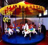 畅销户外16座简易转马 转马生产厂家