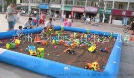 广东台山广场上质量好的沙滩池海洋球池厂家