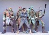 忍者神龟出租,忍者神龟模型出租,忍者神龟雕塑出租