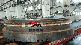 厂家供应变齿厚直径4米精密双导程蜗轮蜗杆副