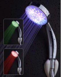 LED花洒温控三色/七彩渐变/单色淋浴花洒淋浴喷头专业厂家