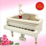 旋轉輪盤動感芭蕾舞女郎鋼琴音樂盒 (g5052)