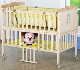 MC639Y 无漆实木儿童床