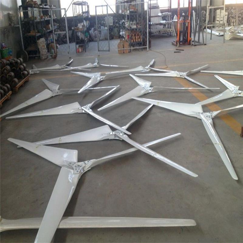 保证永磁风力发电机宁津晟成小型风力发电机1千瓦220V家用