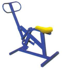 騎馬機平步機組合 室外健身器材