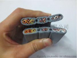 现货TVVBPG-TV30芯36芯带**带钢芯带视频线(或地线)电梯随行扁平电缆