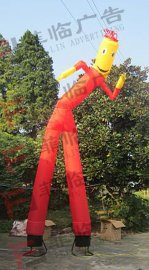 供应小丑舞星 大型广告单脚双脚空中舞者充气气球